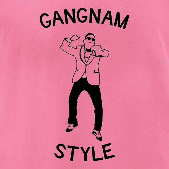 Gangnam Style t-shirts for ladies