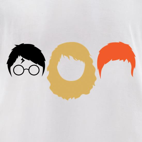 Harry, Hermione & Ron t-shirts for ladies