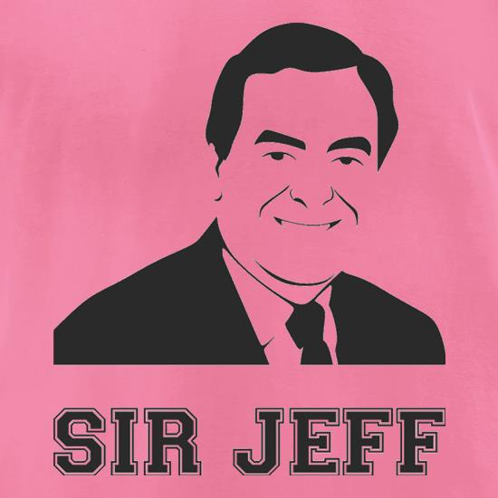 Jeff Stelling t-shirts for ladies