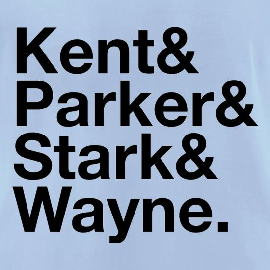 Kent Parker Stark Wayne t-shirts for ladies