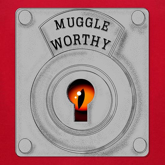 Muggle Worthy t-shirts for ladies