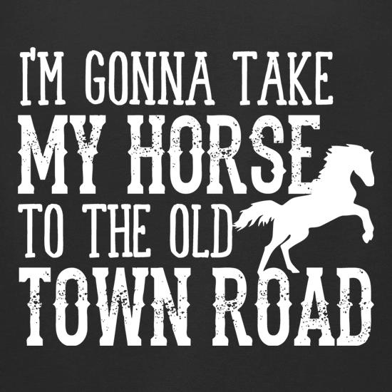 Old Town Road t-shirts for ladies