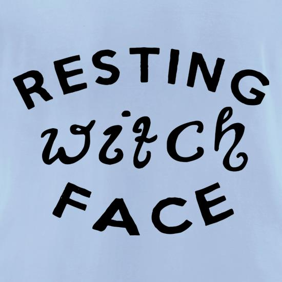 Resting Witch Face t-shirts for ladies