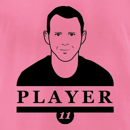 Ryan Giggs Player t-shirts for ladies