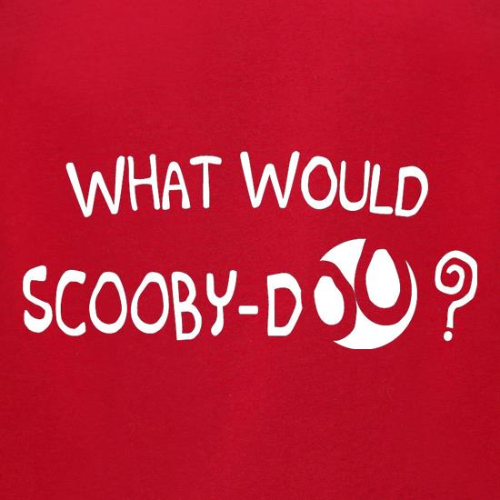 What Would Scooby Doo? t-shirts for ladies