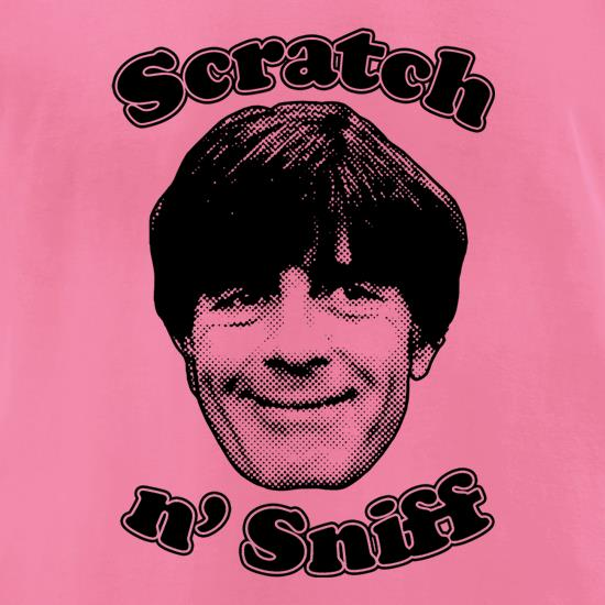 Scratch n' Sniff Joachim t-shirts for ladies