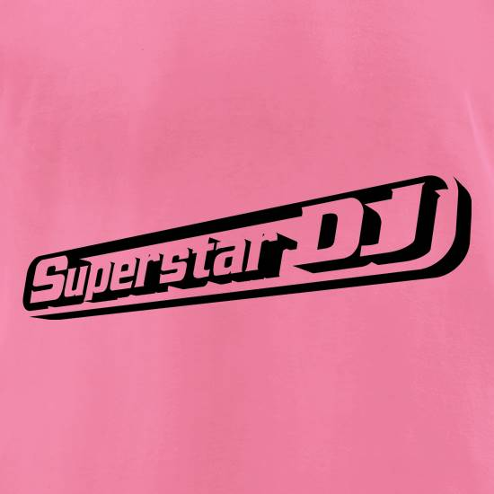 Superstar DJ t-shirts for ladies