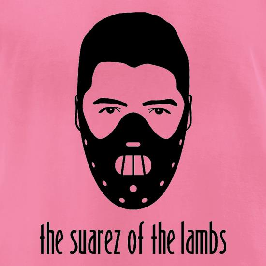 The Suarez Of The Lambs t-shirts for ladies