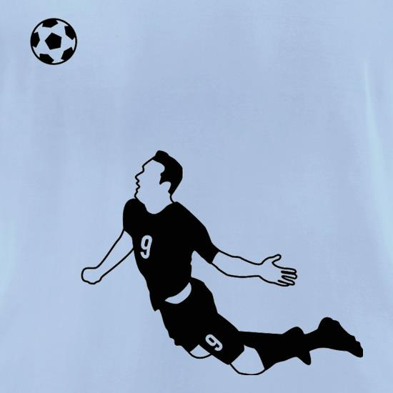 Van Persie Diving Header t-shirts for ladies