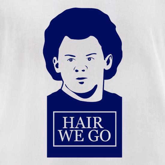 Wayne Rooney Hair We Go t-shirts for ladies