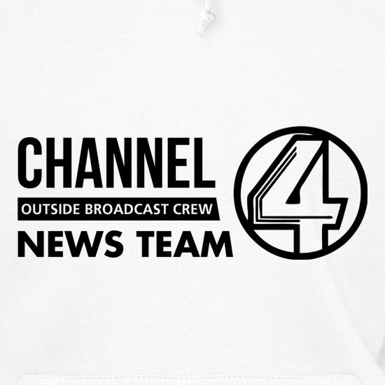 Anchorman - channel 4 outside broadcast Hoodies