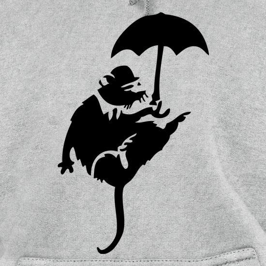 Banksy Flying Rat Hoodies