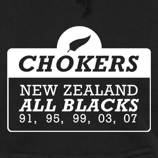 Chokers New Zealand All Blacks Hoodies