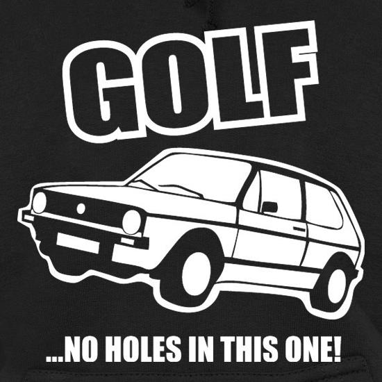 Golf...No Holes In This One! Hoodies