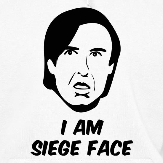 I Am Siege Face Hoodies