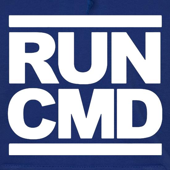 RUN CMD Hoodies