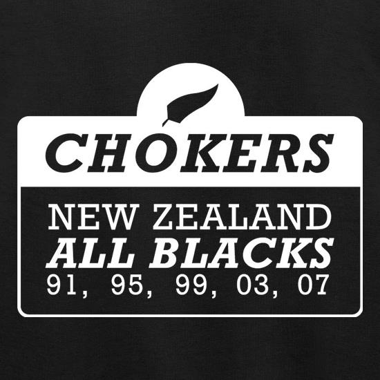 Chokers New Zealand All Blacks Jumpers