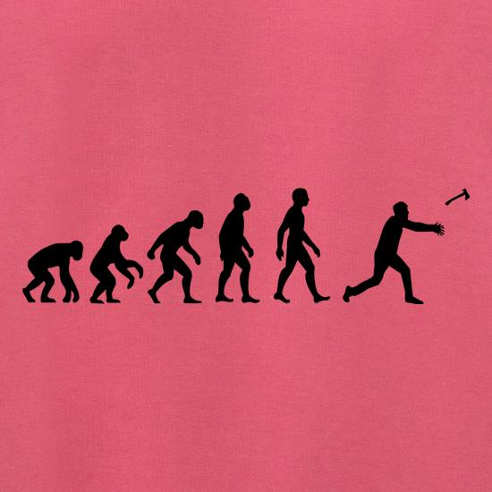 Evolution Of Man Throwing Axe Jumpers