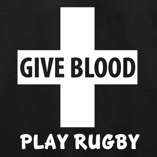 Give Blood. Play Rugby. Jumpers