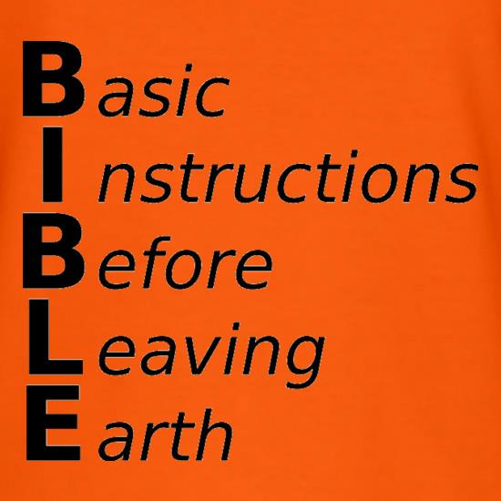 Basic Instructions Before Leaving Earth T-Shirts for Kids