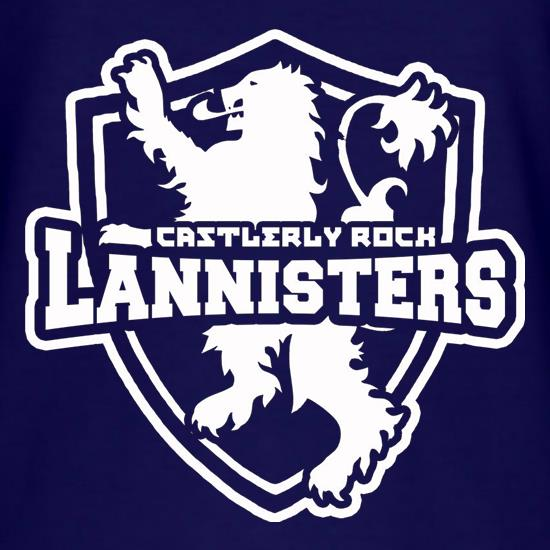 Game Of Thrones - Team Lannister T-Shirts for Kids