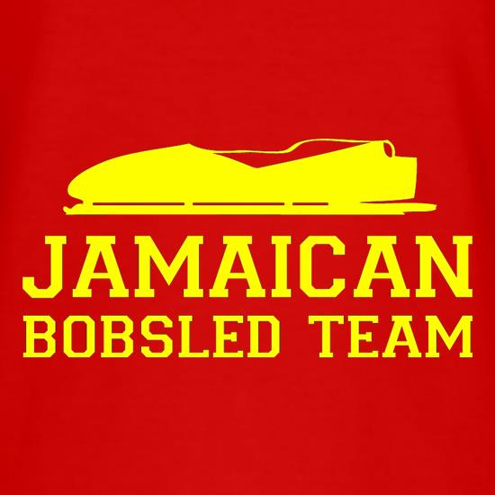Jamaican Bobsled Team T-Shirts for Kids