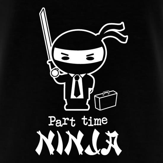 Part Time Ninja T-Shirts for Kids
