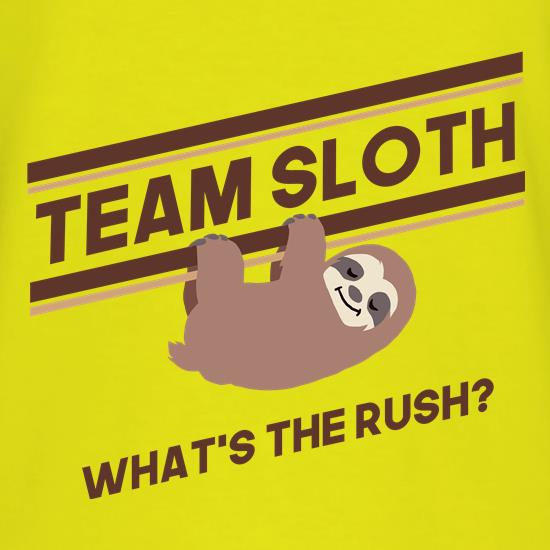 Team Sloth T-Shirts for Kids