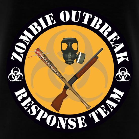 Zombie Outbreak Response Team T-Shirts for Kids
