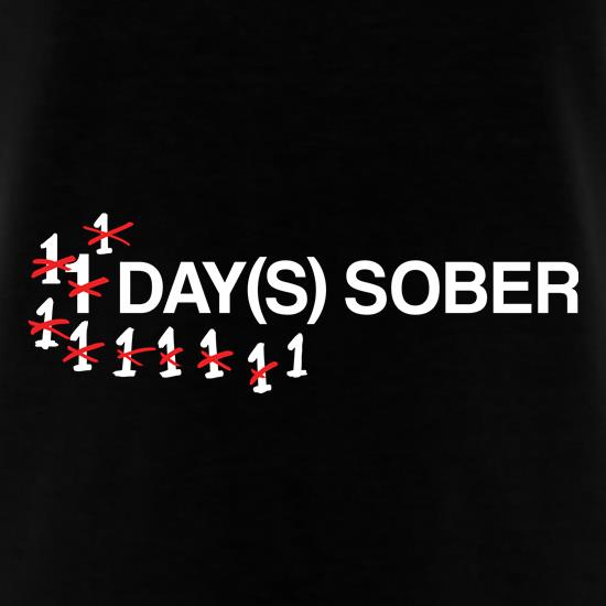 1 Day Sober t-shirts