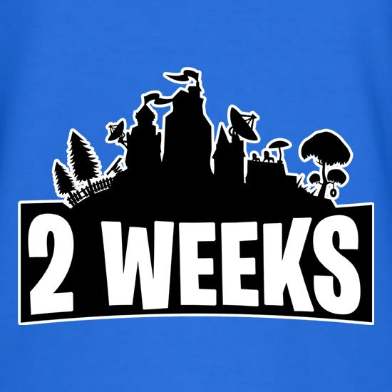 2 weeks t-shirts