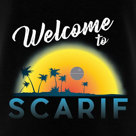 Welcome to Scarif t-shirts