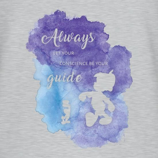 Always Let Your Conscience Be Your Guide t-shirts