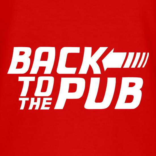 Back To The Pub t-shirts