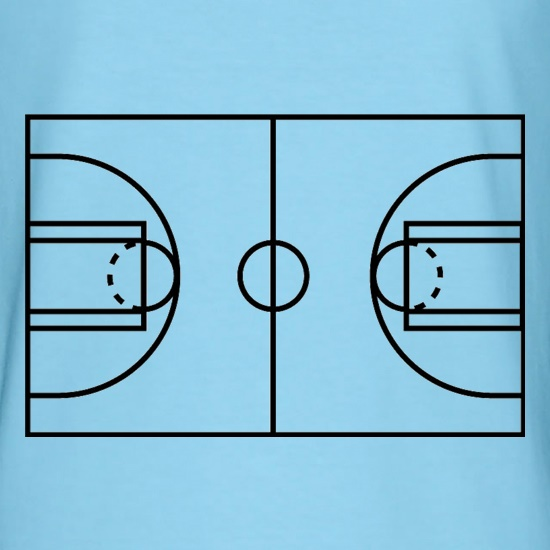 Basketball Court t-shirts