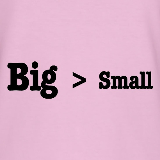 Big Small t-shirts