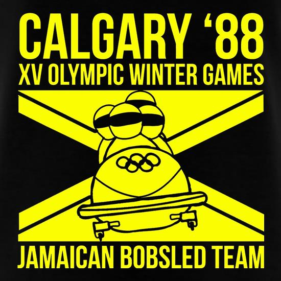 Calgary 88 Jamaican Bobsleigh Team t-shirts