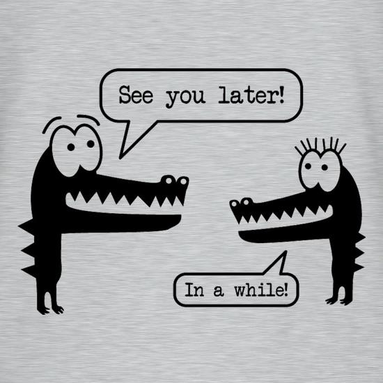 Crocodile & Alligator t-shirts