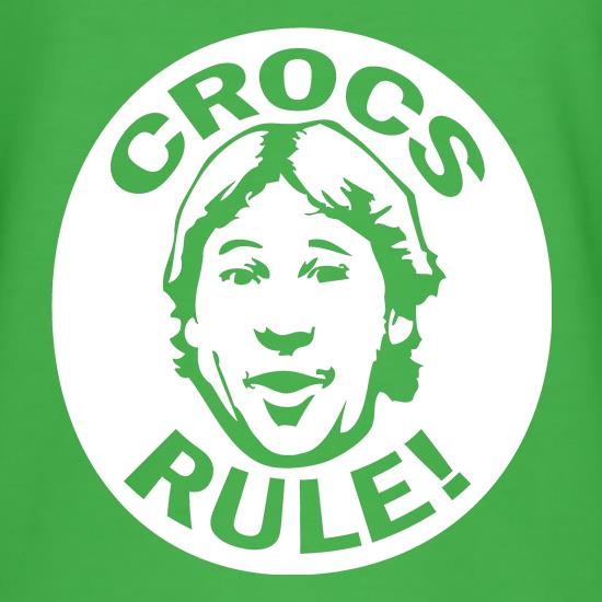 Crocs Rule! t-shirts