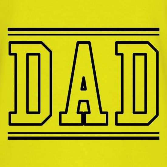 Dad  - College Style t-shirts