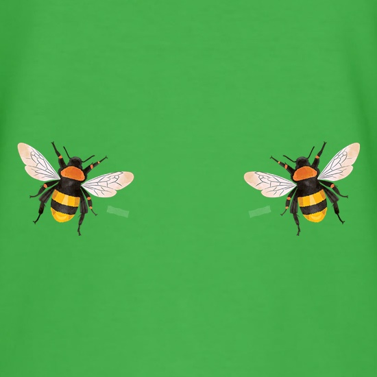 Double Bees Chest t-shirts