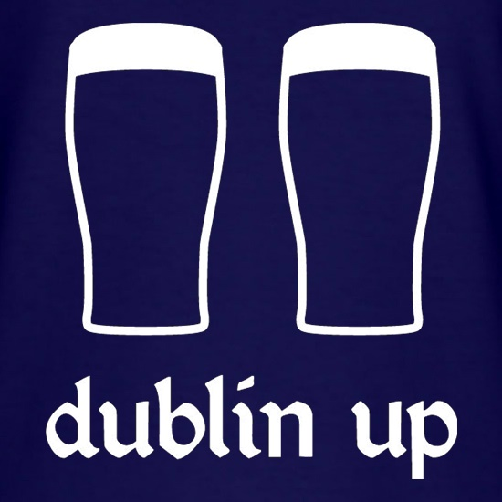 Dublin Up t-shirts