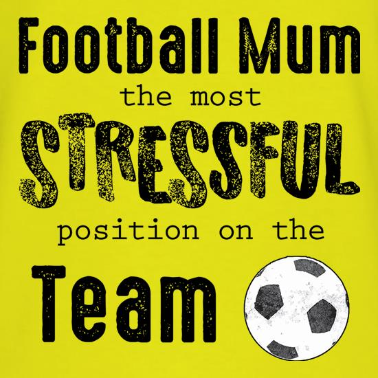 Football Mum t-shirts