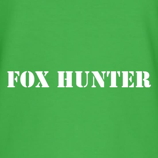 Fox Hunter t-shirts