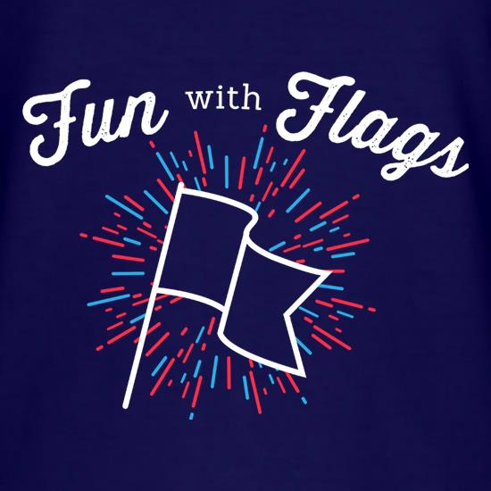 Fun With Flags t-shirts