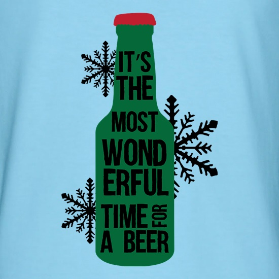 It's The Most Wonderful Time For A Beer t-shirts
