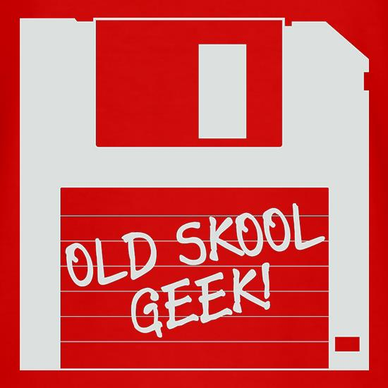 Old School Geek t-shirts
