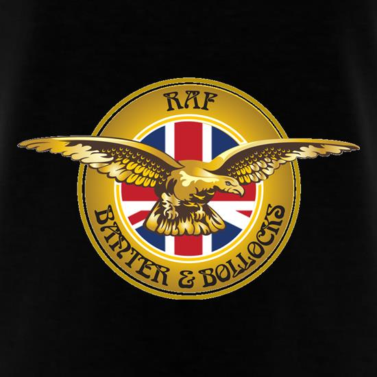 RAF Banter and Bollocks t-shirts