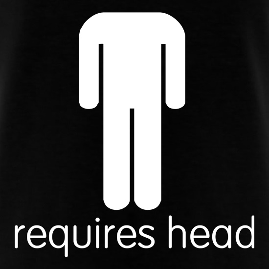 Requires Head t-shirts