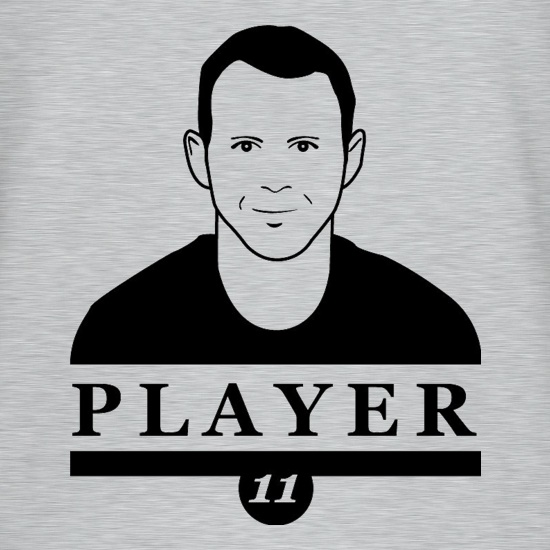 Ryan Giggs Player t-shirts
